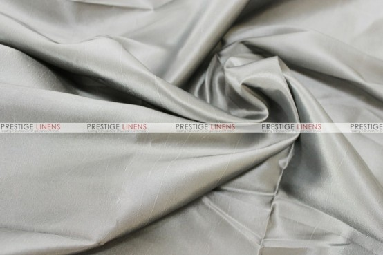 Solid Taffeta Chair Cover - 1142 Med Grey