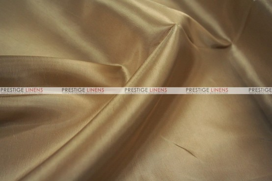 Solid Taffeta Chair Cover - 130 Champagne