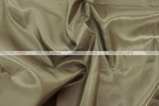 Solid Taffeta Chair Cover - 132 Taupe