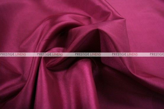 Solid Taffeta Chair Cover - 645 Raspberry