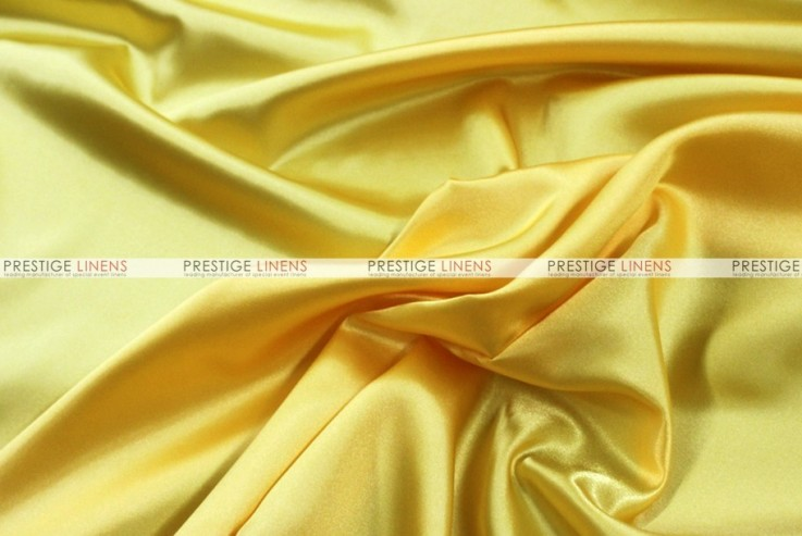 Bridal Satin Chair Cover - 426 Yellow