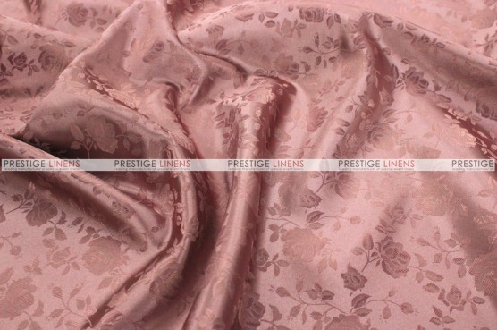 Brocade Satin Chair Cover - Mauve