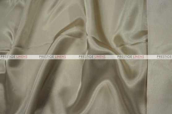 Charmeuse Satin Chair Cover - 135 Sand