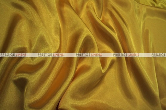 Charmeuse Satin Chair Cover - 229 Dk Gold