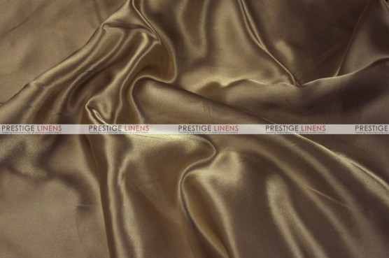 Charmeuse Satin Chair Cover - 326 Khaki
