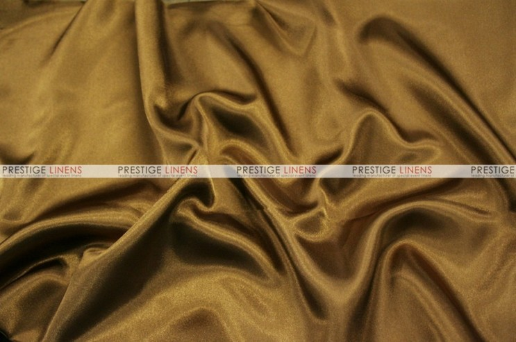 Charmeuse Satin Chair Cover - 330 Cappuccino
