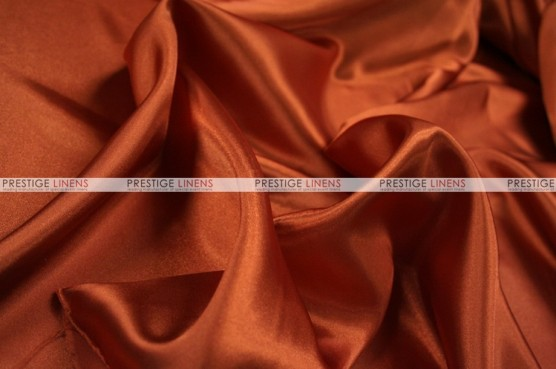 Charmeuse Satin Chair Cover - 337 Rust