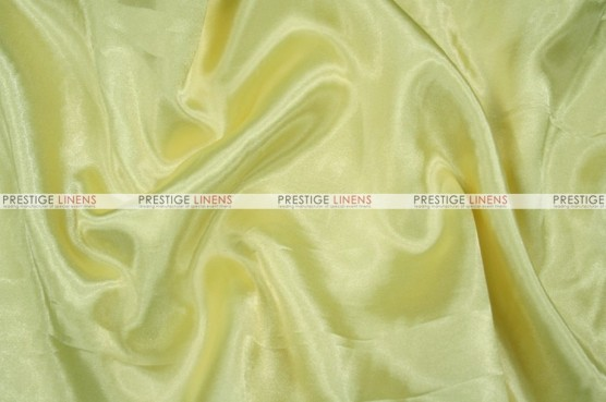 Charmeuse Satin Chair Cover - 427 Lt Yellow