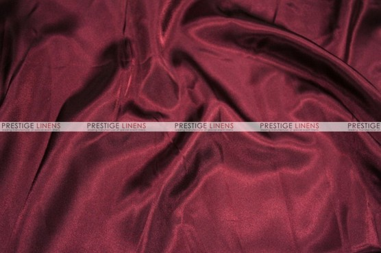 Charmeuse Satin Chair Cover - 628 Burgundy