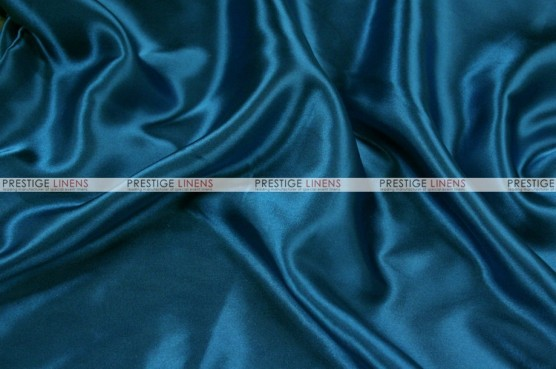 Charmeuse Satin Chair Cover - 738 Teal