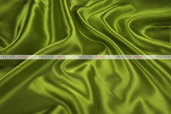 Charmeuse Satin Chair Cover - 749 Dk Lime