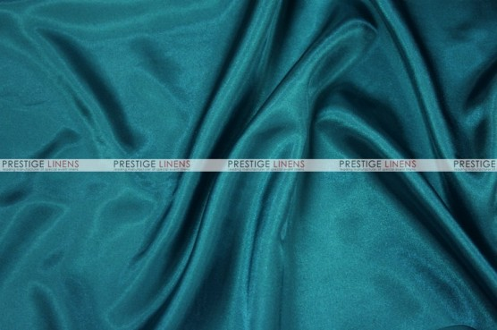 Charmeuse Satin Chair Cover - 764 Lt Teal