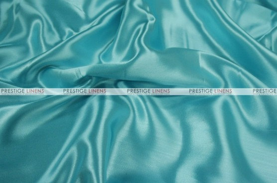 Charmeuse Satin Chair Cover - 951 Tiffani Blue
