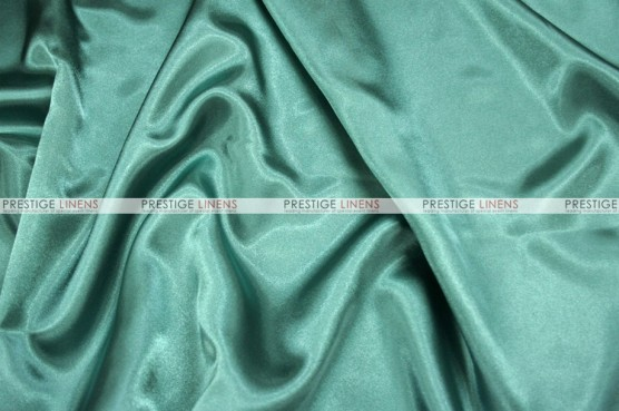 Charmeuse Satin Chair Cover - 961 Dk Seafoam