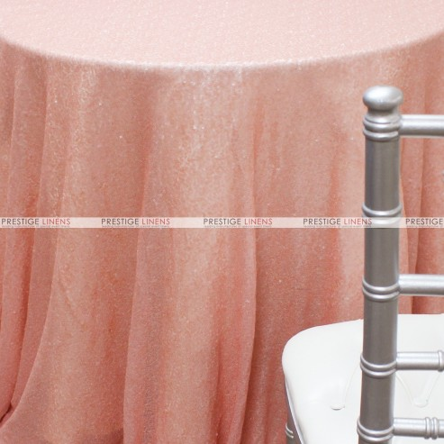Glitz Table Linen - Blush Pink