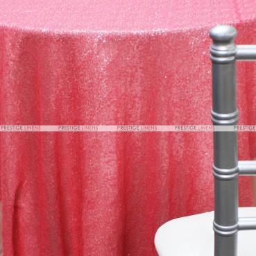 Glitz Table Linen - Coral