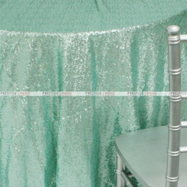 Glitz Table Linen - Mint (Dull)