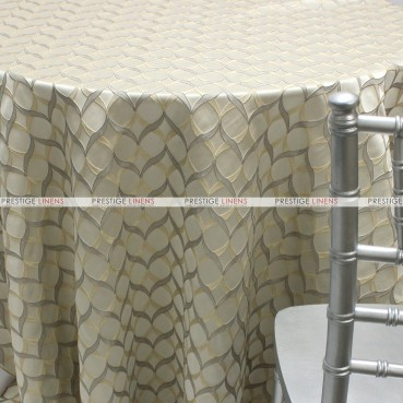 Helix Table Linen - Silver