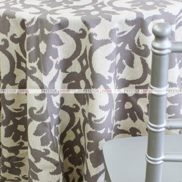 Ikat Table Linen – Silver