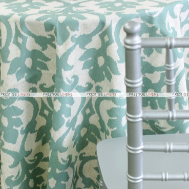 Ikat Table Linen – Teal