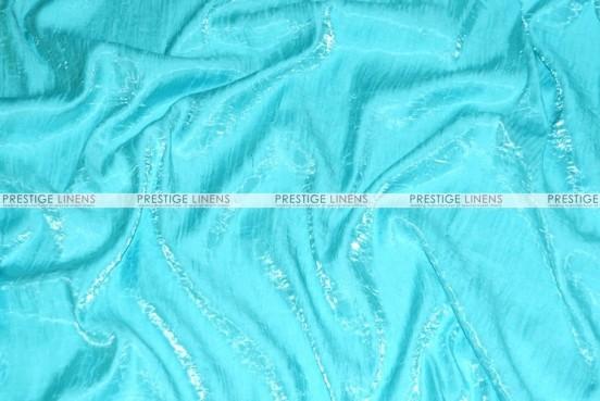 Iridescent Crush Chair Caps & Sleeves-Tiffani Blue