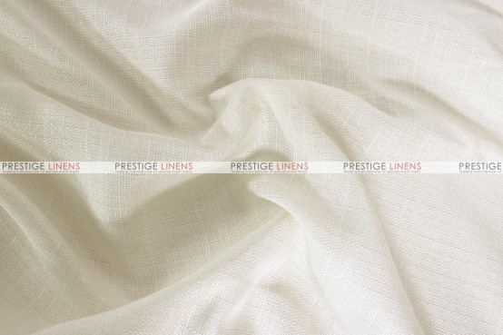 Rustic Linen Napkin  -  Ivory