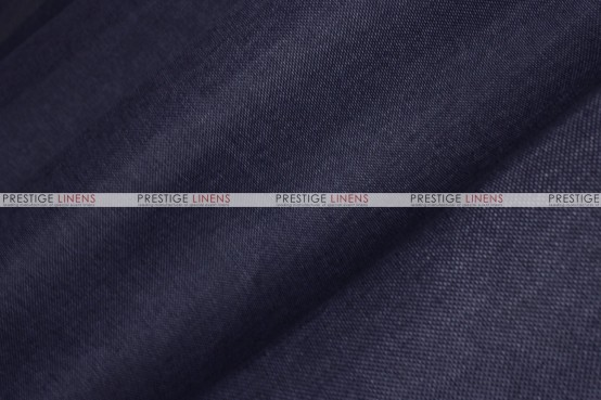 Vintage Linen Napkin - Navy