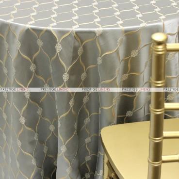 Lodi Table Linen - Platinum