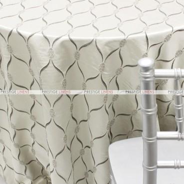 Lodi Table Linen - Silver