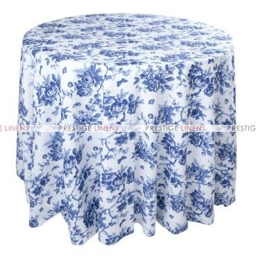 Mjs Print - Pottery Table Linen - Blue