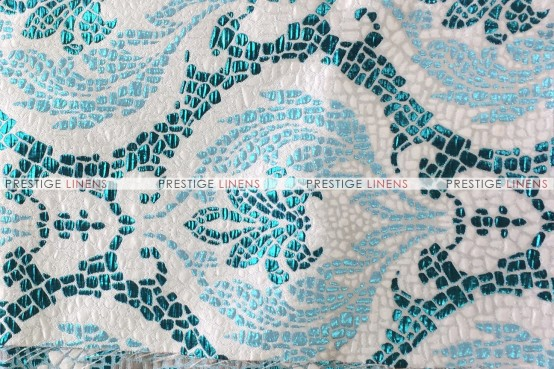 Mosaic Table Linen - Teal
