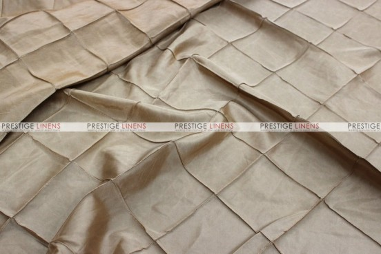Pintuck Taffeta Pillow Cover - Champagne