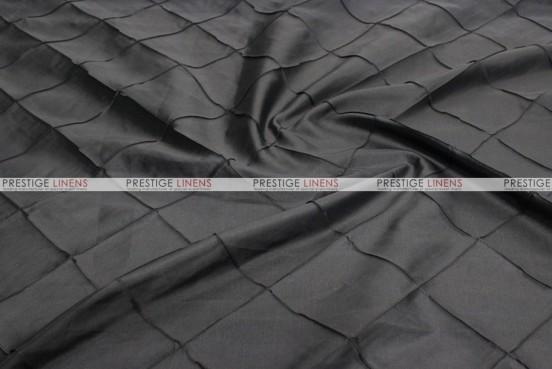 Pintuck Taffeta Table Linen - Black