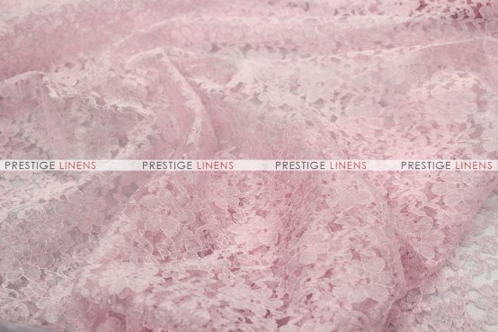 Rachelle Lace Table Linen - 527 Pink