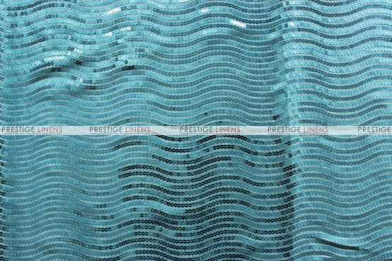 River Rock Table Linen - Aqua