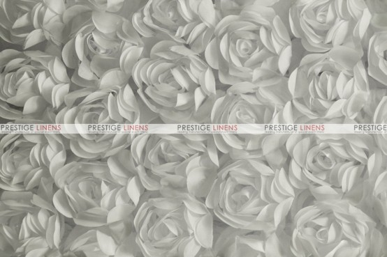 Rose Bordeaux Table Linen - Silver