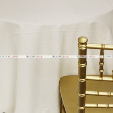 Rustic Linen Table Linen – Ivory