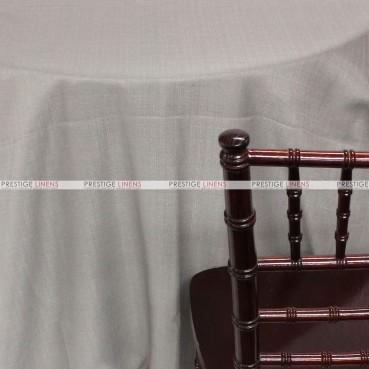Rustic Linen Table Linen – Silver