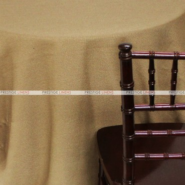 Rustic Linen Table Linen – Taupe