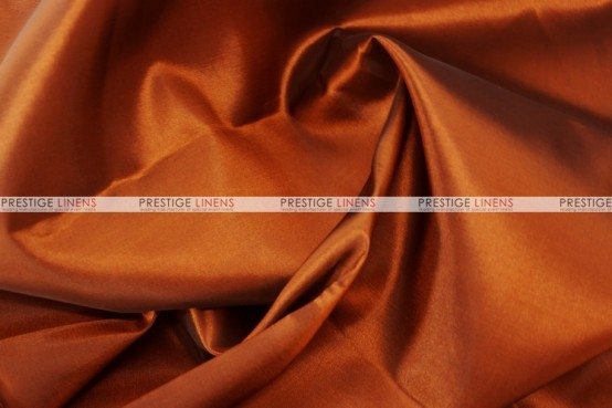 Solid Taffeta Table Linen - 110 Copper