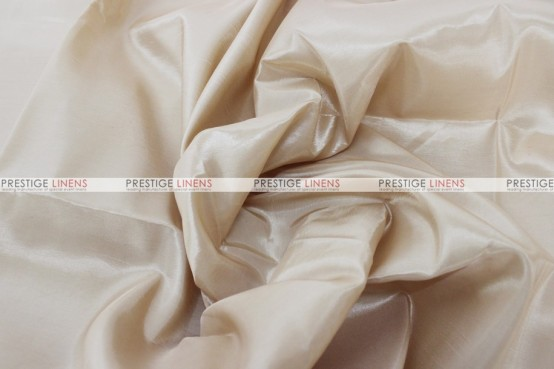Solid Taffeta Table Linen - 139 Cream