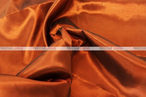 Solid Taffeta Table Linen - 600 Med Rust
