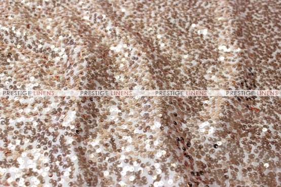 Taffeta Sequins Embroidery Table Linen - Champagne