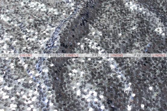 Taffeta Sequins Embroidery Table Linen - Charcoal