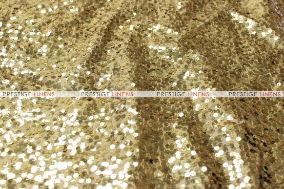 Taffeta Sequins Embroidery Table Linen - Gold