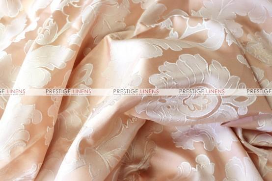 Alex Damask - Fabric by the yard - Blush Peach