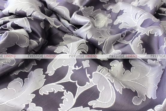 Alex Damask - Fabric by the yard - Dark Purple