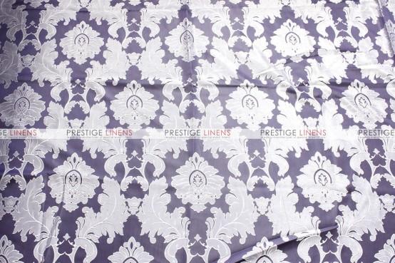 Alex Damask - Fabric by the yard - Light Grape