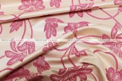 Amy - Fabric by the yard - Fuchsia