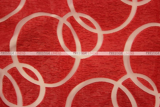 Apollo - Fabric by the yard - Red